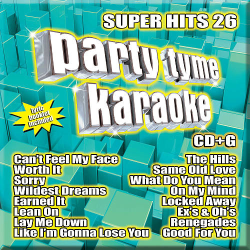 Party Tyme Karaoke: Super Hits 26 (CD+Gs)