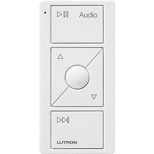 Lutron - Pico Wireless Control for Audio - White