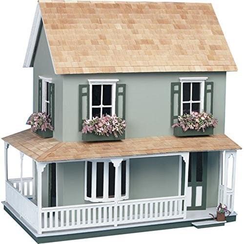 leaf Laurel Dollhouse Kit - 1 Inch Scale by Greenleaf Billiards [Dollhouse Kit]