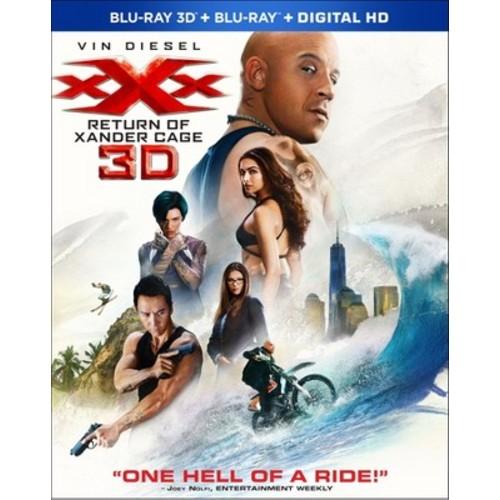 xXx: Return Of Xander Cage (3D + Blu-ray + Digital)