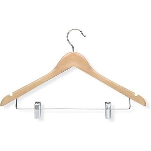HONEY-CAN-DO HNGT01209 Wood Suit Hanger, Maple, Pk 12