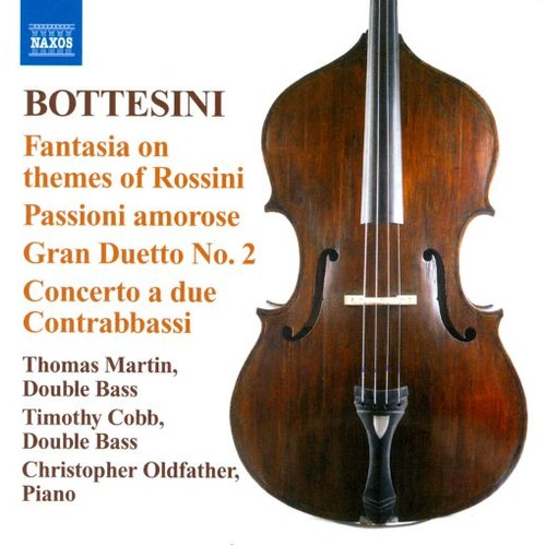 Bottesini: Fantasia on themes of Rossini [CD]