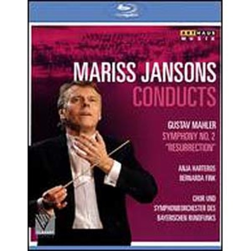 Mariss Jansons Conducts: Gustav Mahler - Symphony No. 2 Resurrection [Blu-ray]