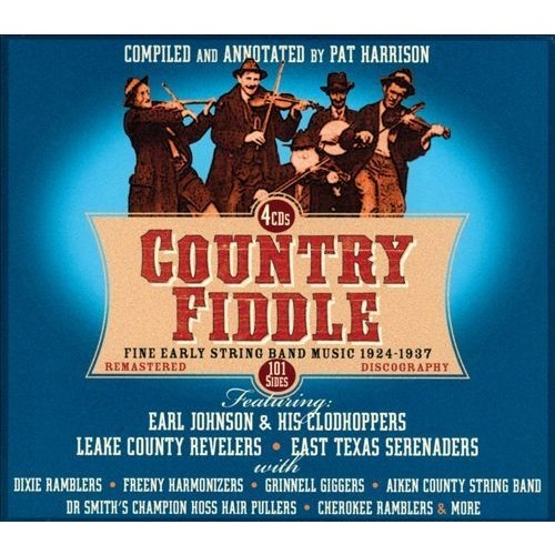 Country Fiddle: Early String Band Music, Vol. 1 [CD]