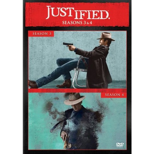 Justified: Seasons 3 and 4 [6 Discs] [DVD]