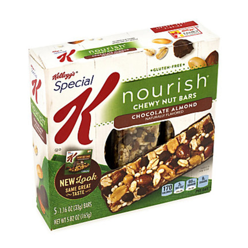 Special K Nourish Chewy Nut Bars, Chocolate Almond, Box Of 15