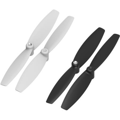 Parrot Propellers for Swing and Mambo Minidrones, 4 Pack, Black/White