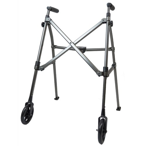 Able Life Space Saver Walker in Black Walnut