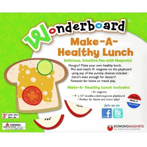 Dowling Magnets Make a Healthy Lunch Wonderboard Magnet Set