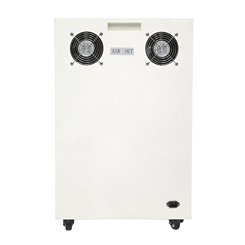 California Air Tools 8010SPC Ultra Quiet and Oil Free 1 HP Steel Tank Air Compressor in Sound Proof Cabinet, 8-Gallon