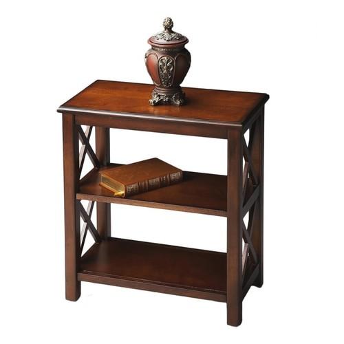 Butler Vance Plantation Cherry Bookcase