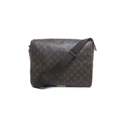 Pre-Owned Louis Vuitton Monogram Canvas Abbesses Messenger Bag
