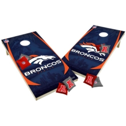 Wild Sports Denver Broncos XL Tailgate Bean Bag Toss Shields