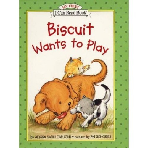 Biscuit Wants to Play (Hardcover)