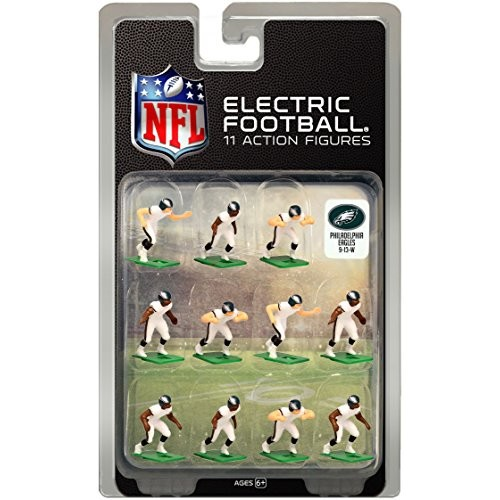 Tudor Games Philadelphia Eagles White Uniform NFL Action Figure Set