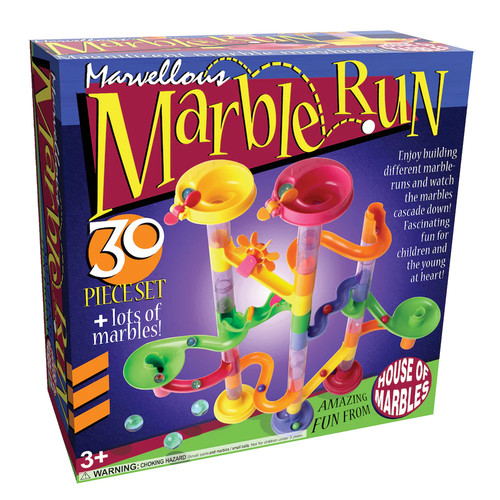 Marvellous Marble Run 30-pc. Set by House of Marbles