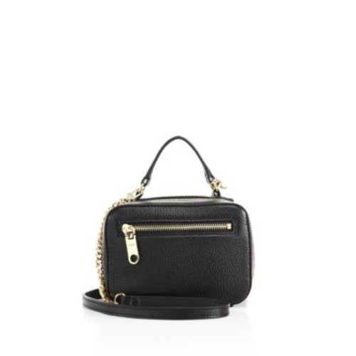 MILLY Astor Mini Leather Satchel