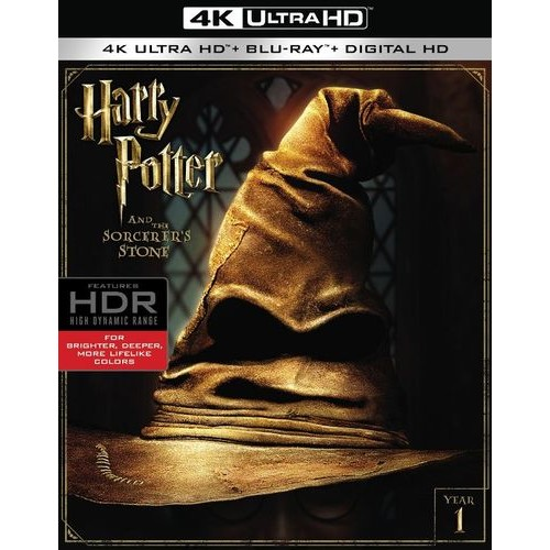 Harry Potter and the Sorcerer's Stone [4K Ultra HD Blu-ray] [2001]