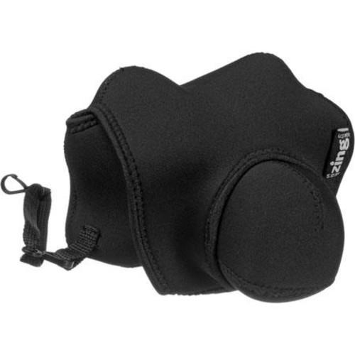 Zing 545121 Large SLR Case, Nikon, Canon Elan - Black 545121