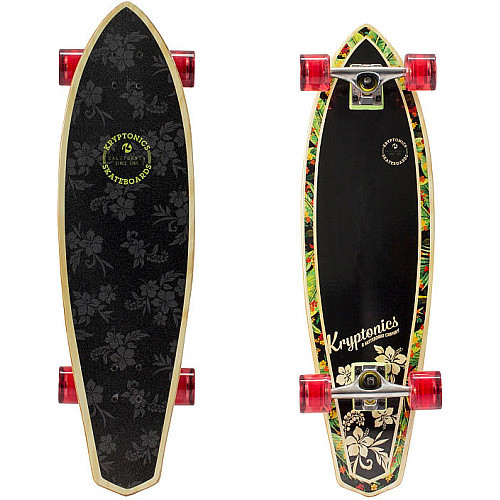 Kryptonics Mini Longboard Skateboard