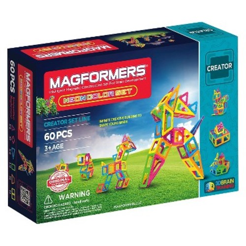 Magformers Neon 60 PC Set