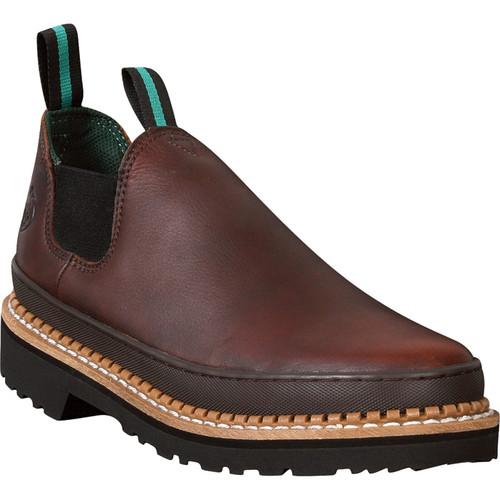 Georgia Giant Romeo Work Shoes  Soggy Brown