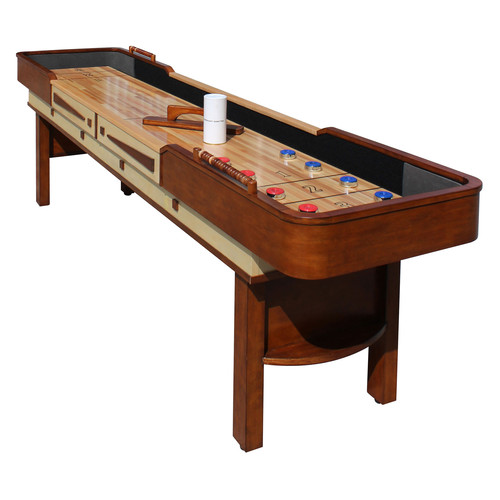 Hathaway Merlot 12-ft Shuffleboard Table