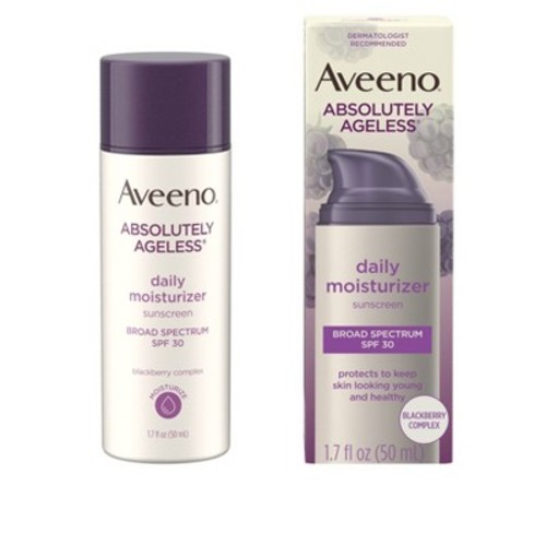 Aveeno Absolutely Ageless Daily Moisturizer with Sunscreen Broad Spectrum SPF 30- 1.7 Fl. Oz