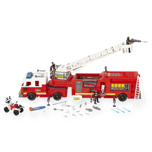 True Heroes Tactical Rescue Fire Playset
