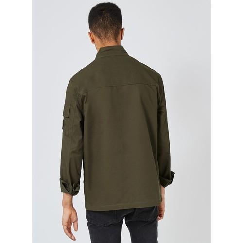 Khaki Badged M65 Jacket