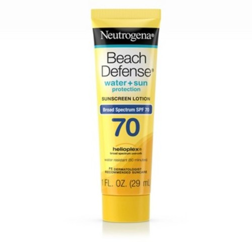 Neutrogena Beach Defense Broad Spectrum Sunscreen Lotion - SPF 70 - 1 fl oz