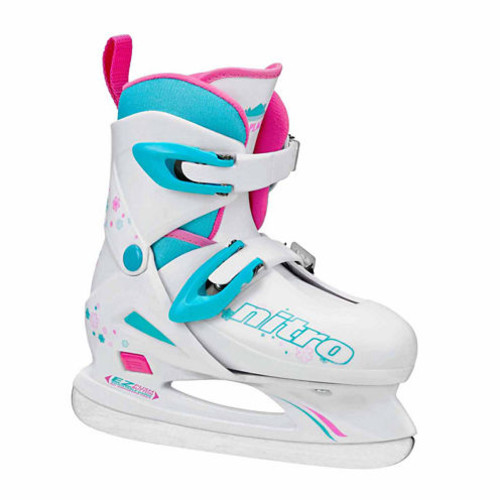 Lake Placid Nitro 8.8 Adjustable Ice Skates - Girls
