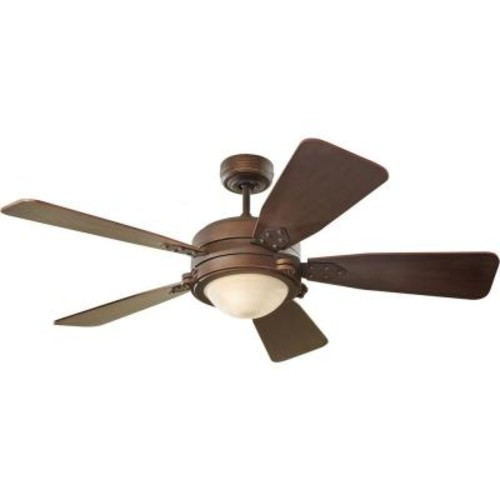 Monte Carlo Vintage Industrial 52 in. Roman Bronze Ceiling Fan