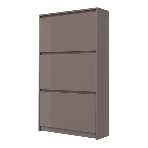 Tvilum Bright Tall 3-Drawer Shoe Cabinet