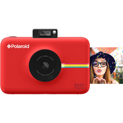 Snap Touch Instant Digital Camera (Red)