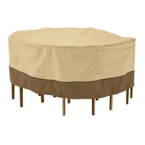 Classic Accessories Veranda Small Patio Table and Chair Set Cover