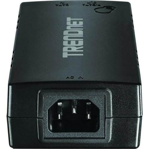 TRENDnet TPE-115GI Gigabit PoE+ Injector - PoE injector - 30 Watt