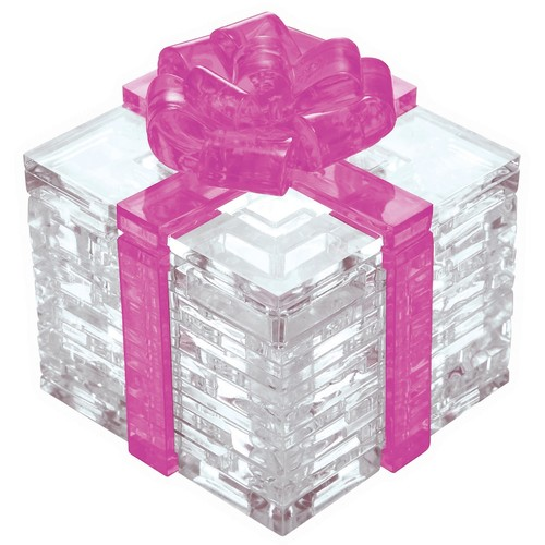 BePuzzled 38-pc. Pink Bow Gift Box 3D Crystal Puzzle