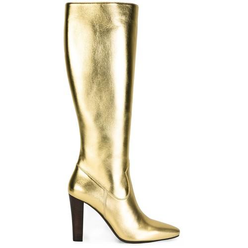 SAINT LAURENT 'Lily' Knee High Boots