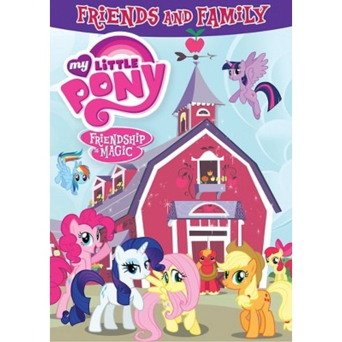 My Little Pony Friendship is Magic: Friends and Family DVD