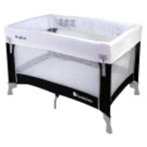 Foundations Worldwide Inc Crib Sleep Fresh Celebrity Play Yard - Graphite 40.25L X 28.5W X 29.5H