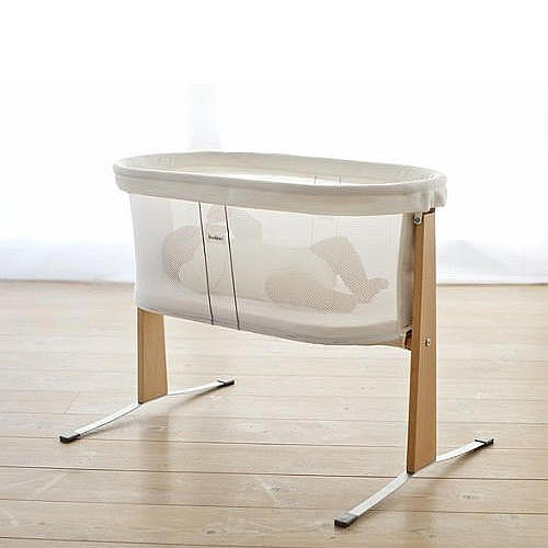 BabyBjorn Cradle Breathable Bassinet - White