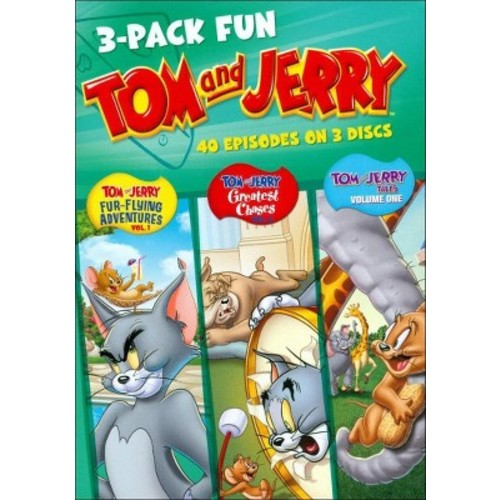 Tom and Jerry: 3-Pack Fun [3 Discs] [DVD]