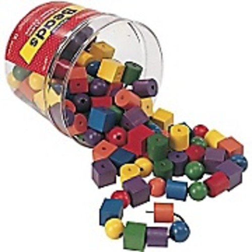 Learning Resources Beads In A Bucket 108 Piece Set