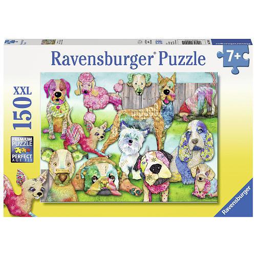 Ravensburger Patchwork Pups Jigsaw Puzzle - 150-Piece