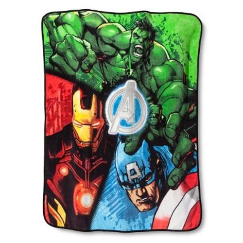 Marvel's The Avengers Throw - Blue (50\