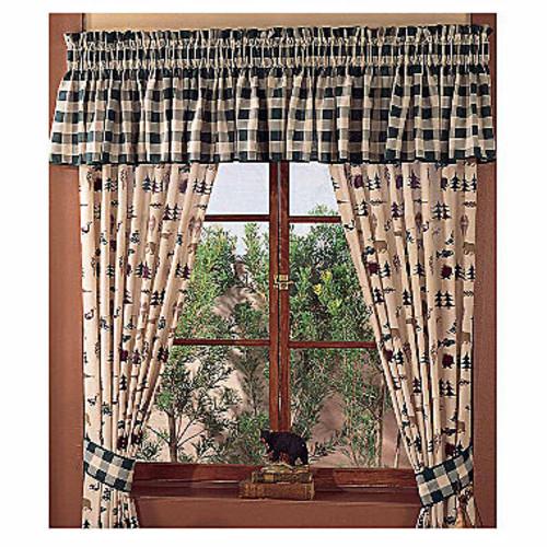 Northern Exposure Curtain Panel