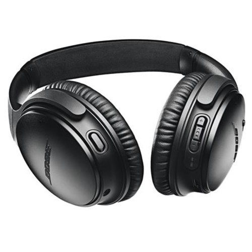 Bose QuietComfort 35 Wireless Headphones II with Mic Black W/Bose SoundSport HP