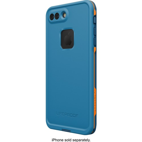 LifeProof - Fre Protective Waterproof Case for Apple iPhone 7 Plus - Base camp blue