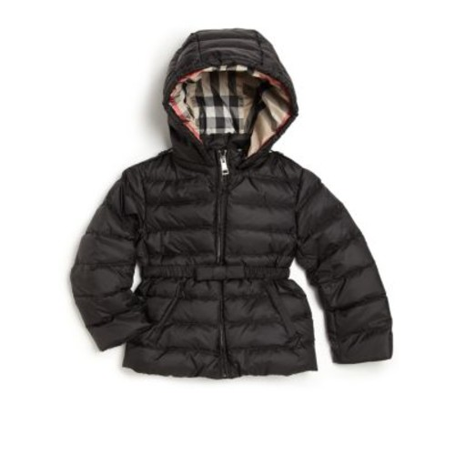 BURBERRY Baby'S Hooded Down Puffer Jacket